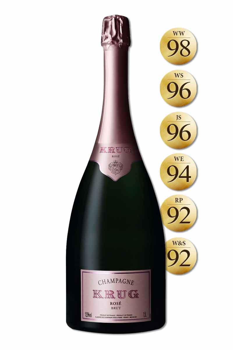 法國 香檳 > 庫克香檳 陳年粉紅香檳 裸瓶版