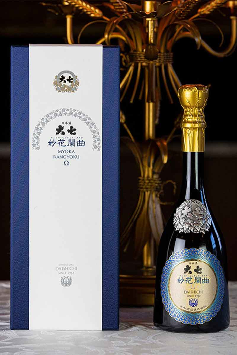 日本 清酒 > 大七妙花闌曲Ω 生酛純米大吟醸雫原酒720ml