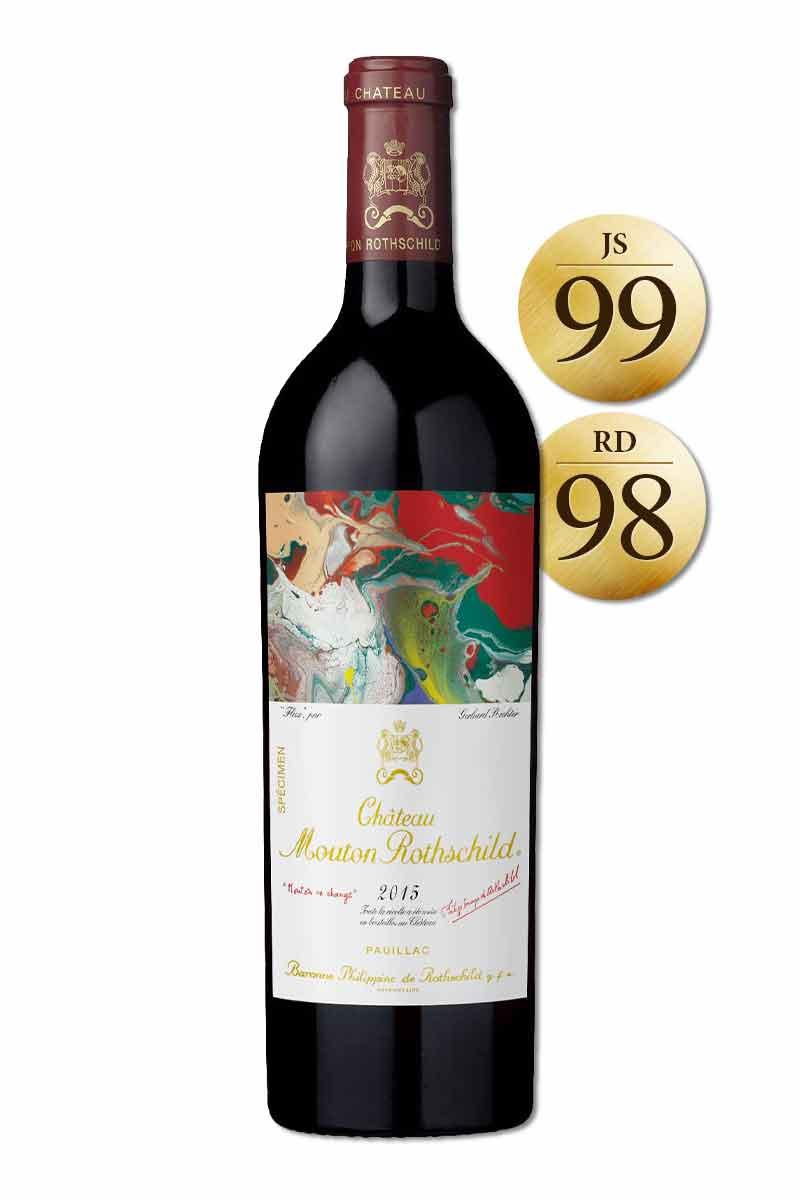法國 波爾多 紅酒 > 木桐堡 2015