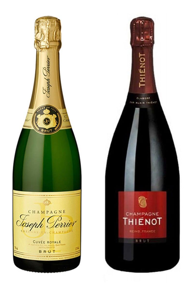 法國 香檳 > 皇家系列無年份干型香檳 + 席諾香檳 無年份