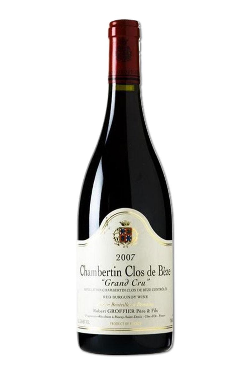 法國 布根地 紅酒 > 羅伯葛菲酒莊 香貝丹-貝日園 特級園紅酒