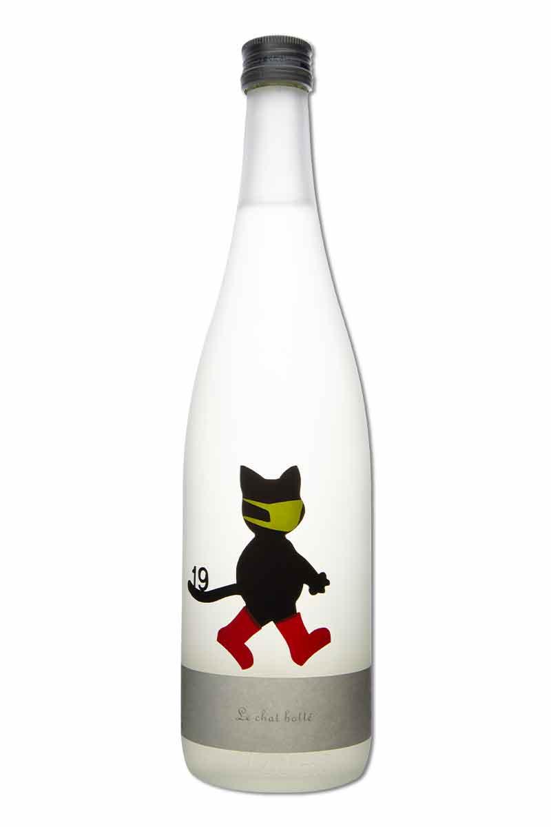 日本 清酒 > 尾澤酒造 十九 Le chat botte 長靴貓 720ml 口罩限定版 (最後七瓶)