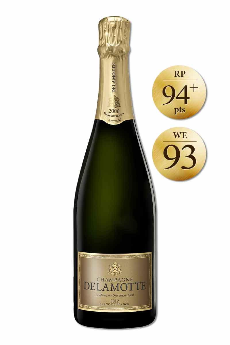 法國 香檳 > 黛拉夢 2012年份白中白香檳