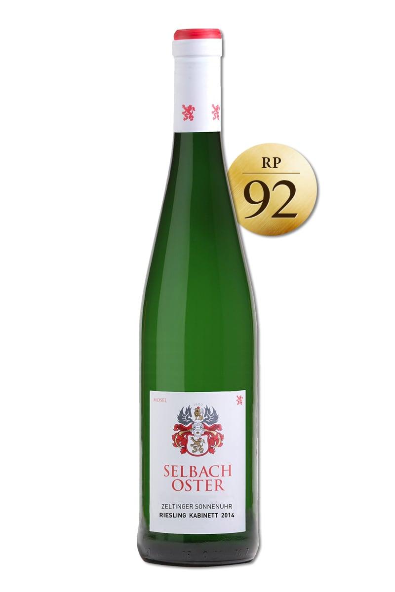 德國 白酒 > 賽爾巴哈奧斯特酒莊 塞爾廷閣村莊 日晷葡萄園 麗絲玲精選甜白酒 2014