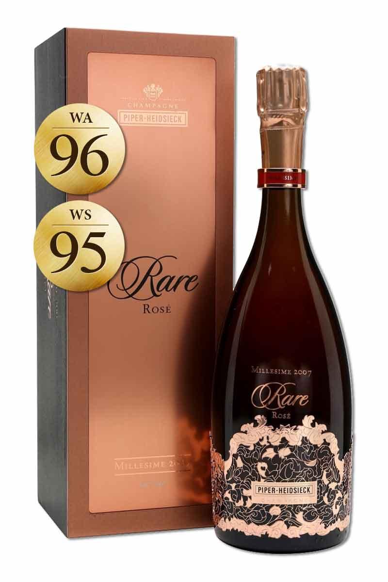 法國 香檳 > 拍譜白雪黑鑽粉紅香檳 2007 禮盒版