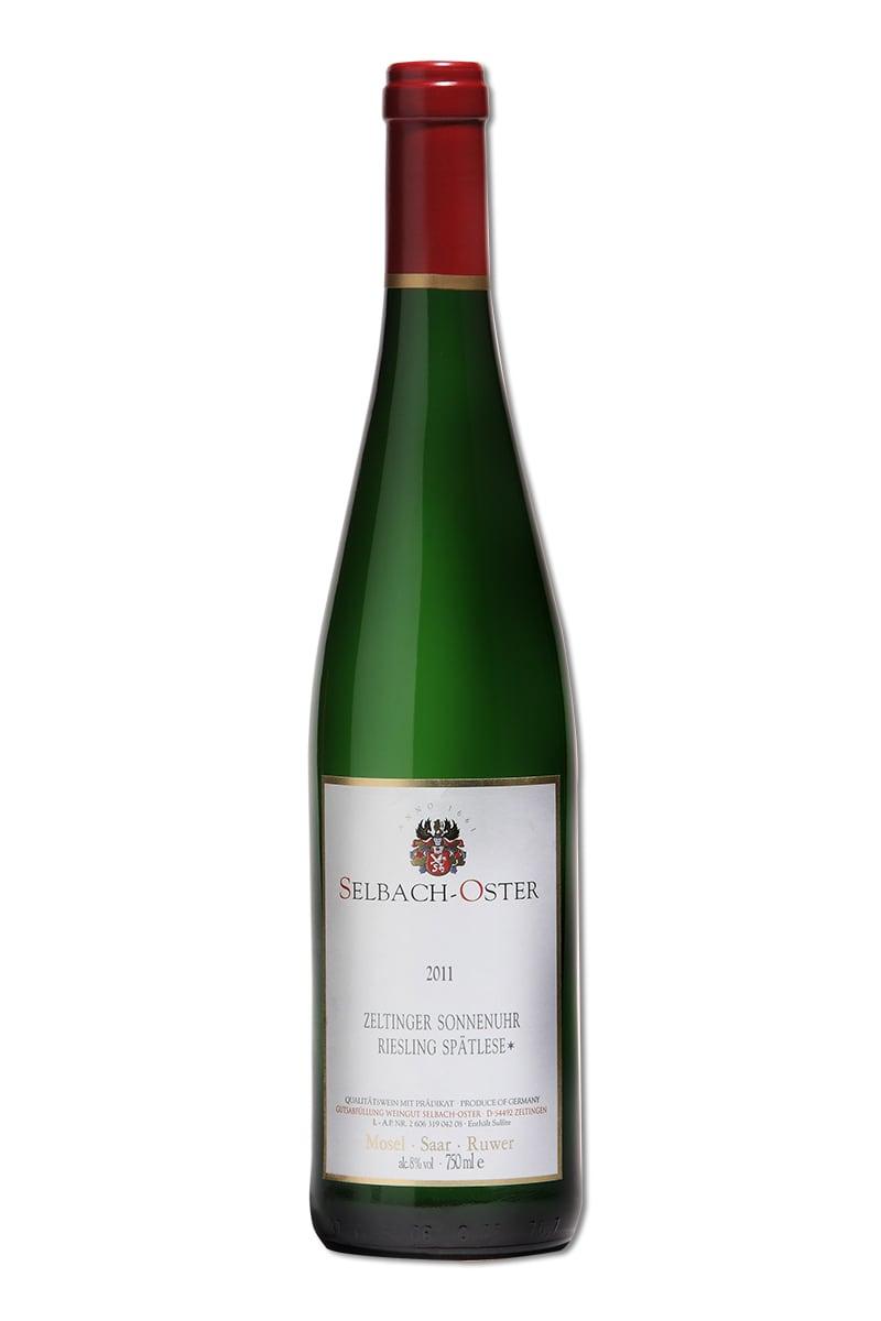 德國 白酒 > 賽爾巴哈奧斯特酒莊 塞爾廷閣村莊 日晷葡萄園 麗絲玲晚收成甜白酒