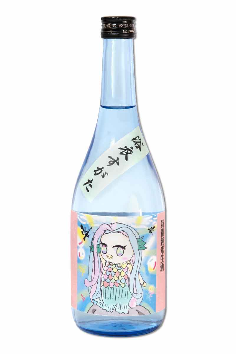 日本 清酒 > 姿 浴衣 特別純米無濾過生原酒 (AMABIE label) 720ml