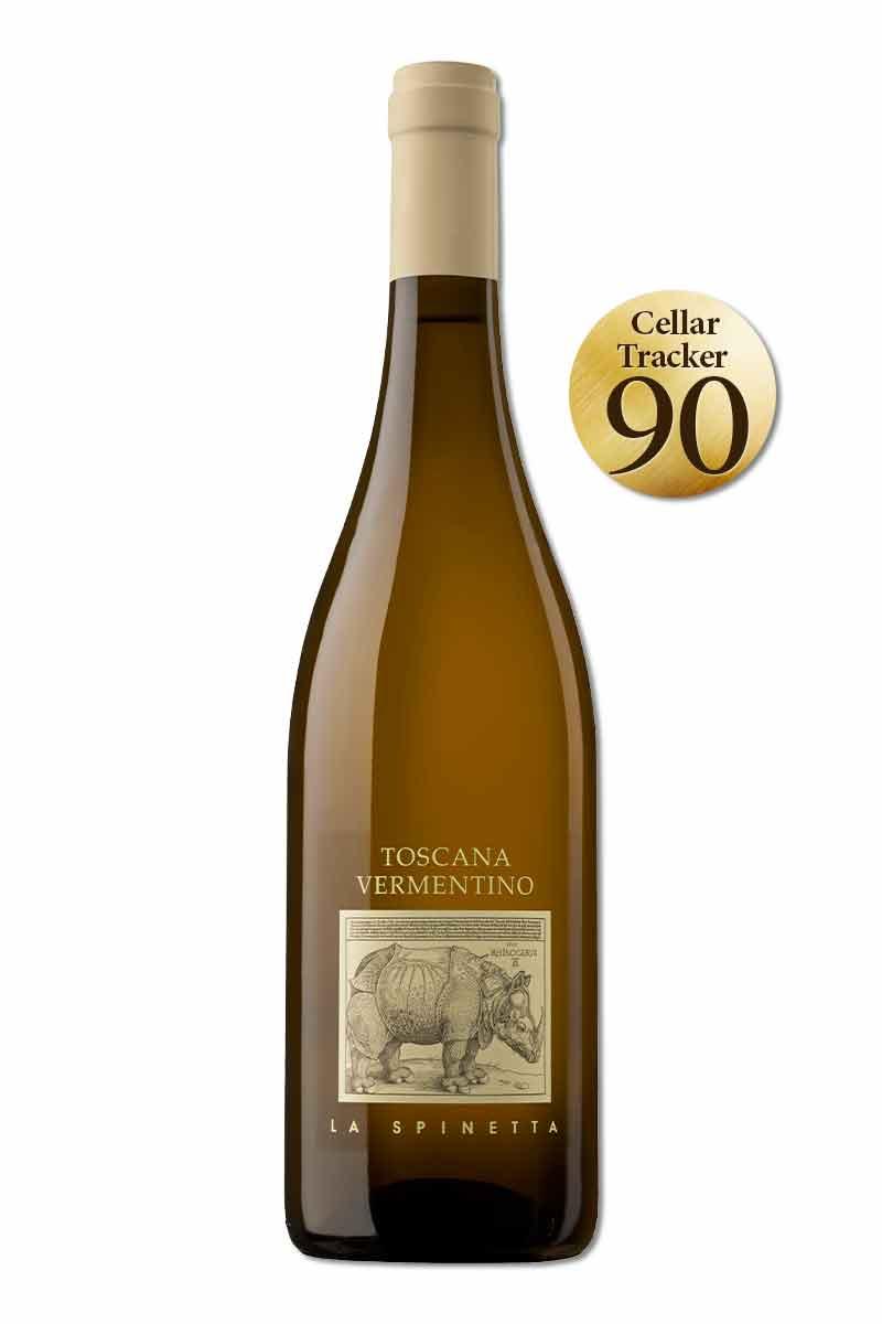 義大利 托斯卡尼 白酒 > 犀牛酒莊 維門提諾白酒 2019