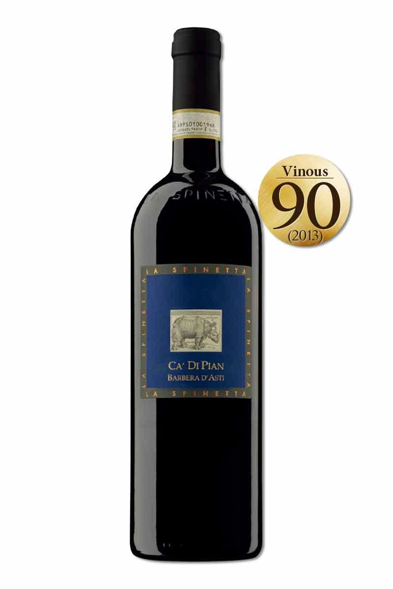 義大利 紅酒 > 犀牛酒莊 巴貝拉 卡迪皮安紅酒 2016