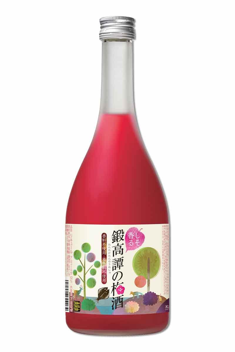 鍛高譚 紅紫蘇梅酒  ( 720 ml )