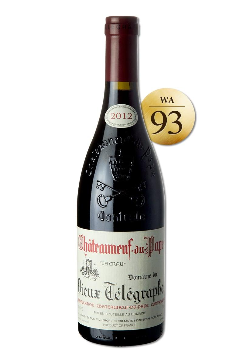 法國 紅酒 > 2012 教皇新堡 老電報 酒莊 精釀紅酒