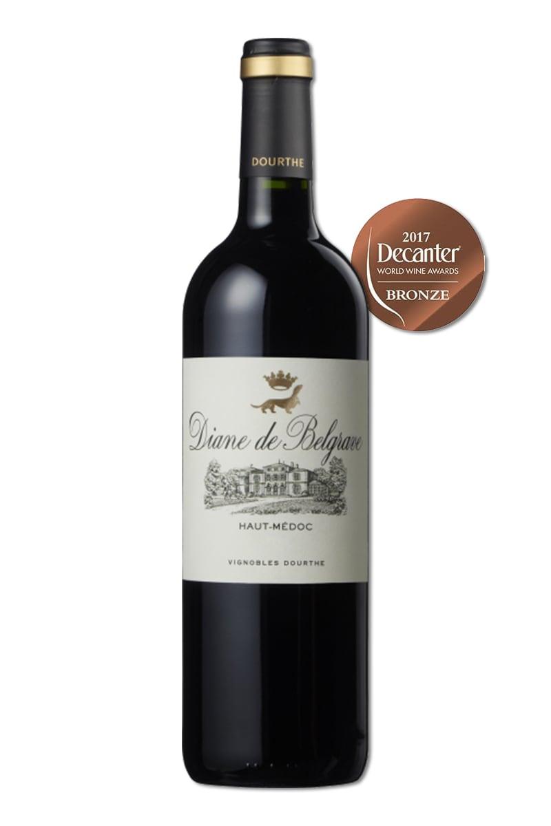 法國 紅酒 > 杜道酒廠 貝兒葛拉芙城堡二軍紅酒