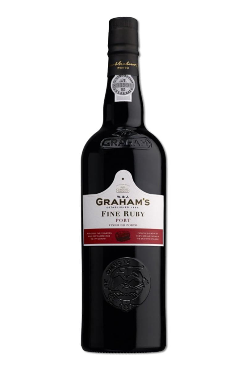 葡萄牙 紅酒 > 葛拉漢紅寶石波特酒