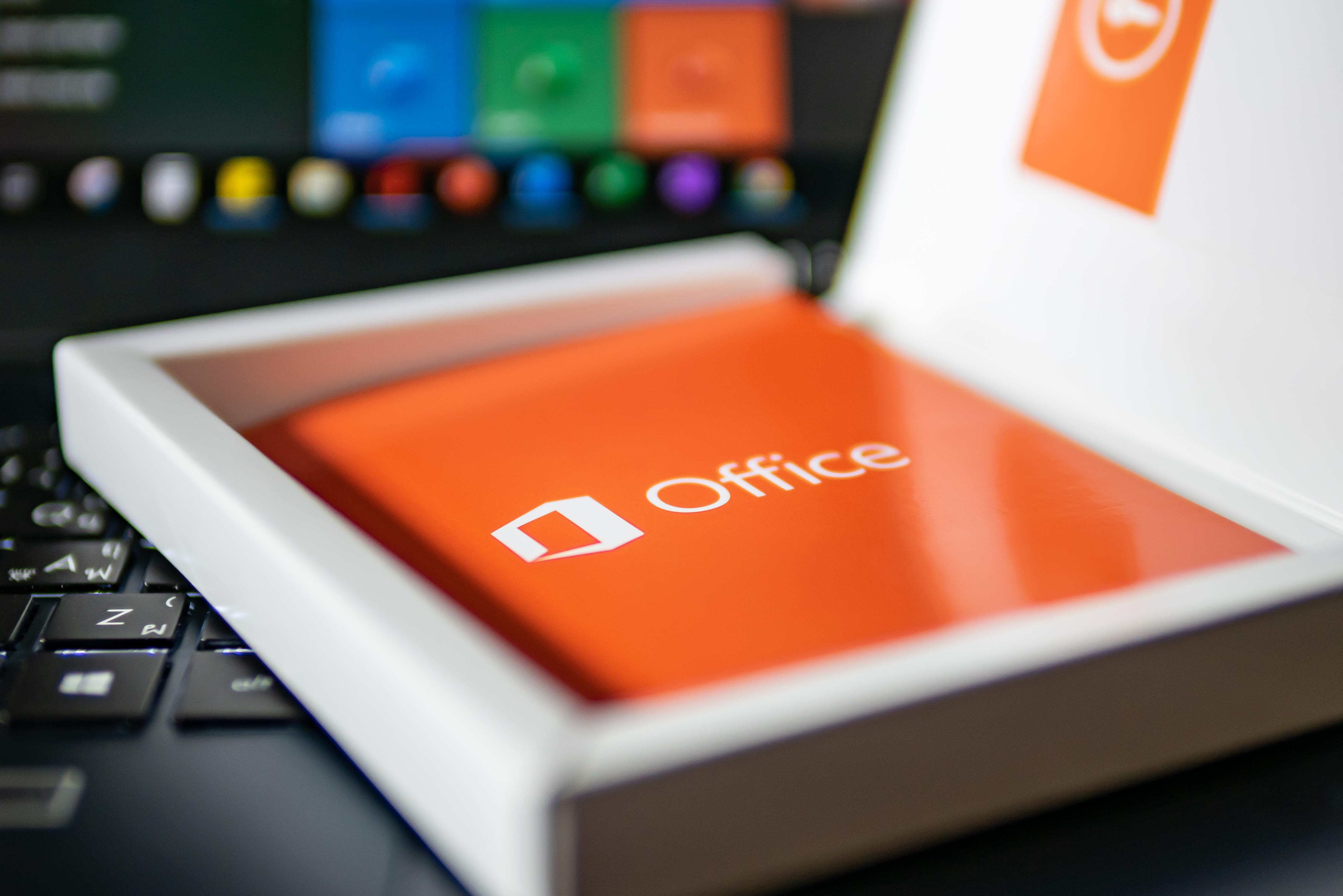 Office - herunterladen und installieren