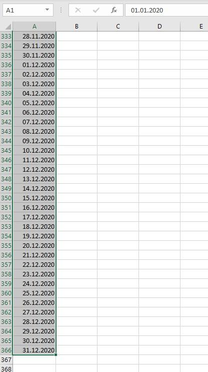 Excel Schaltjahr