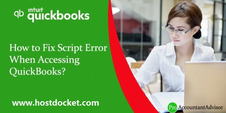 Resolve Script Error When Accessing QuickBooks [Easy Steps]