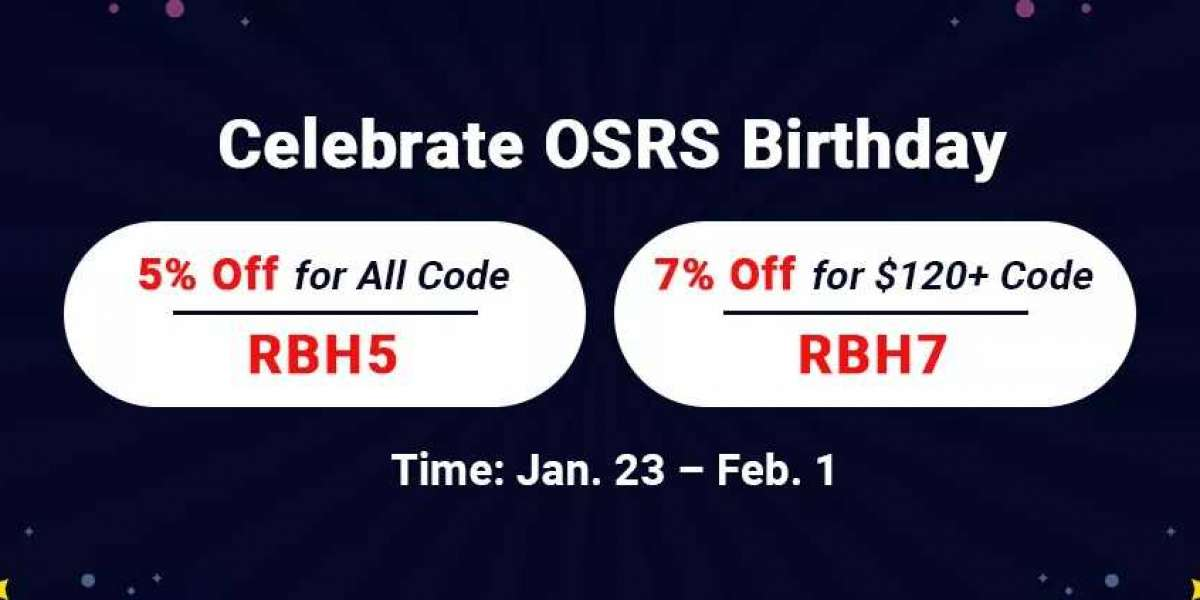 Come to RSorder to Obtain Up to 7% Off OSRS Gold for Sale & More with High Security