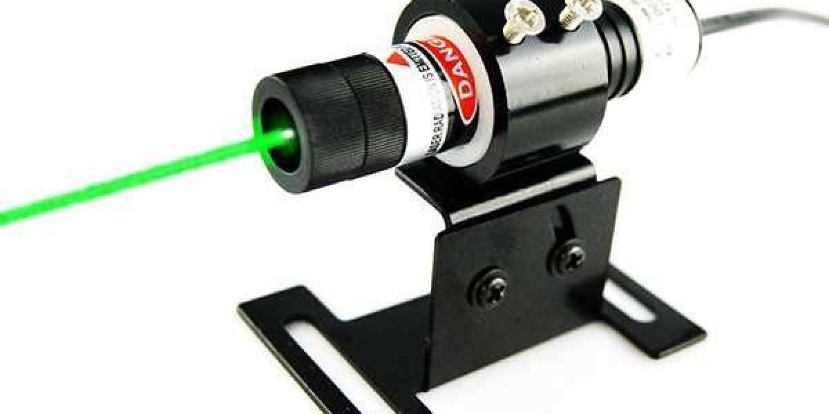 Quick Used 515nm Forest Green Dot Laser Alignment