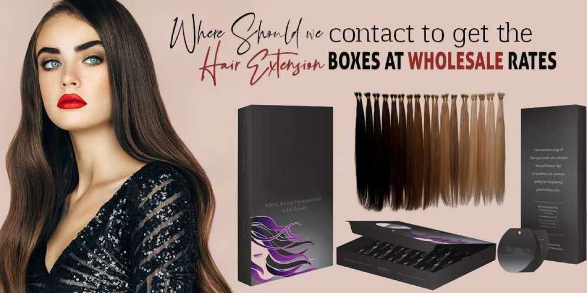 Where should we Contact to Get the Hair Extension Boxes at Wholesale Rates