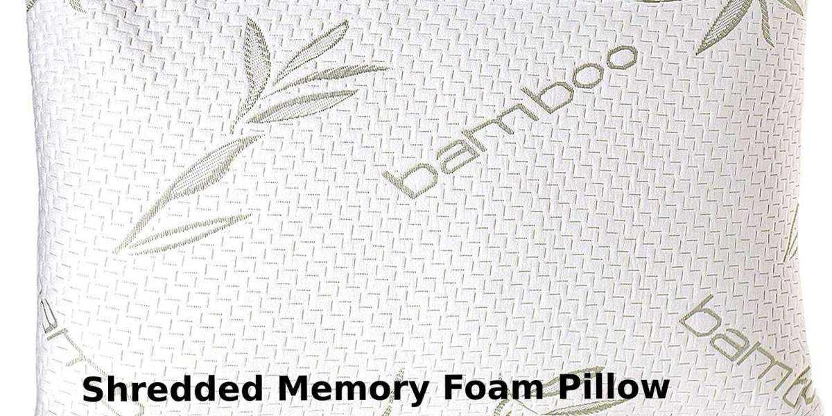 What is a Shredded Memory Foam Pillow?