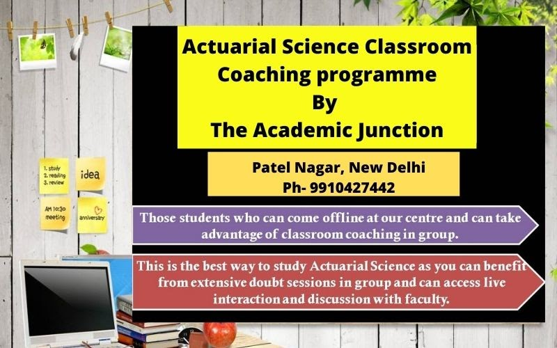 The Academic Junction: Actuarial Science Classes by Best Actuarial Science Institute- The Academic Junction