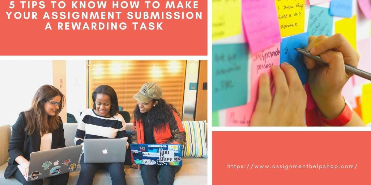 5 Tips To Know How To Make Your Assignment Submission A Rewarding Task