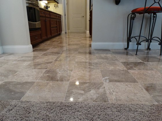 Marble Floor Honed & Polished | Complete Stone Care and Protection