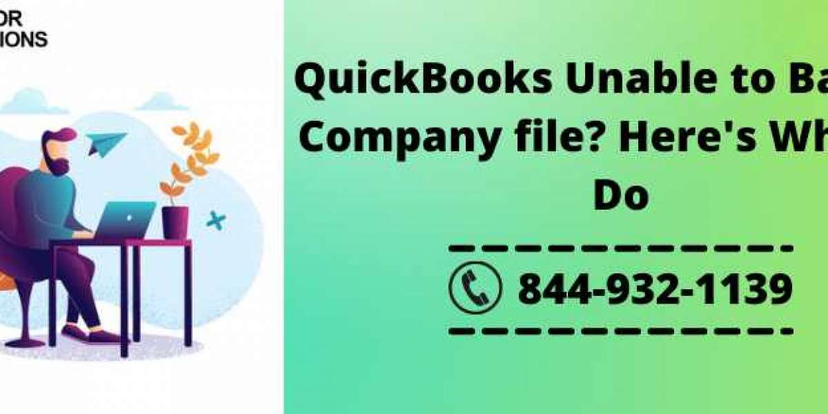 QuickBooks Unable to Backup Company file? Here's What to Do