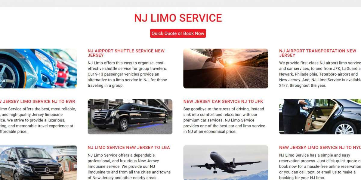 Limo Service NJ—Why Are We Your Best Option in Limo Service?