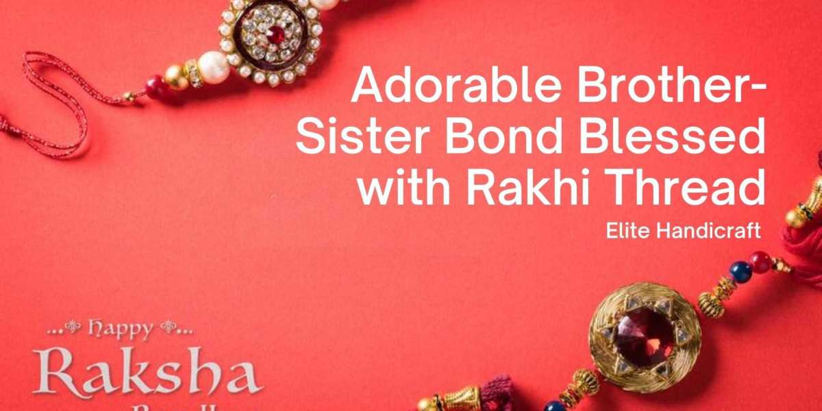 Adorable Brother-Sister Bond Blessed with Rakhi Thread