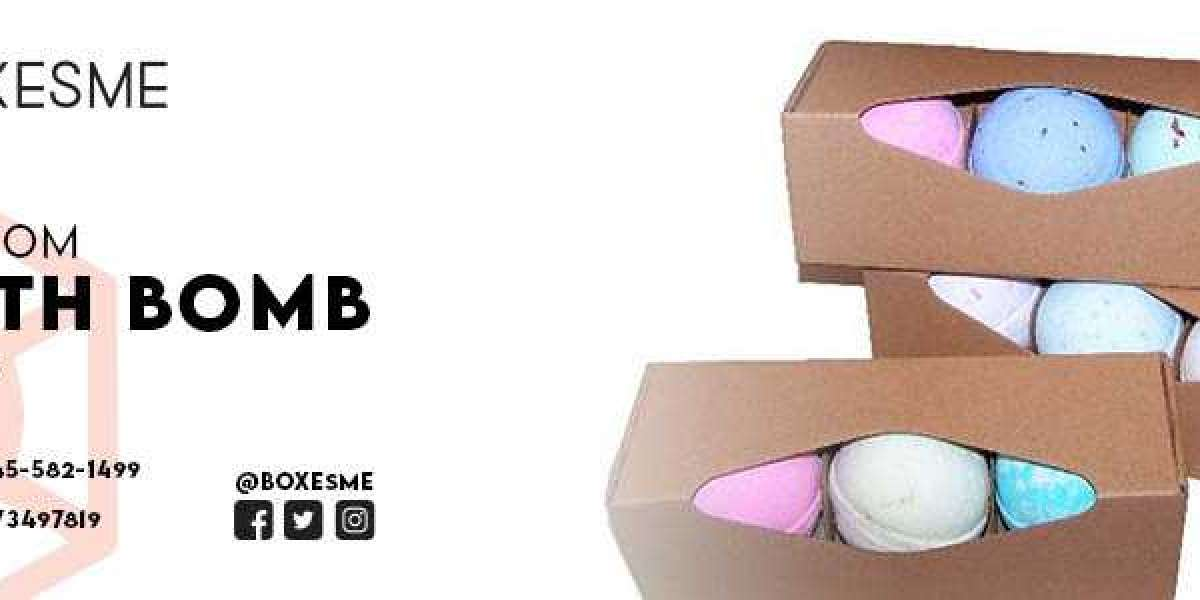 Innovative Bath Bomb Display Boxes at wholesale rate