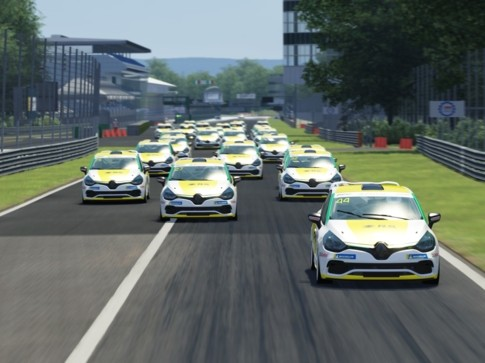 CS - RENAULT CLIO CUP ITALIA ESPORT SERIES & PRESS LEAGUE TORNANO IN PISTA A IMOLA