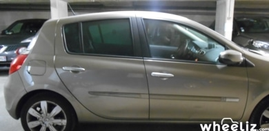 Renault Clio exception
