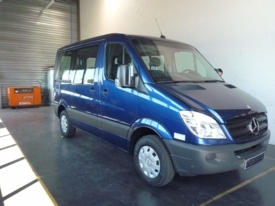 Adapted car rental: Mercedes Sprinter