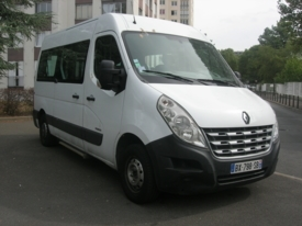 Adapted car rental: Renault MASTER