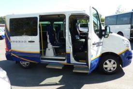 Adapted car rental: Nissan NV 400