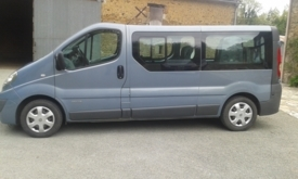 Adapted car rental: Renault Trafic