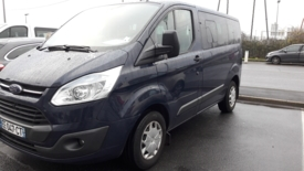 Adapted car rental: Ford TRANSIT CUSTOM