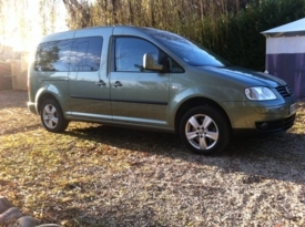 Coche adaptado en alquiler: Volkswagen Caddy