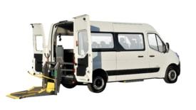Coche adaptado en alquiler: Renault MASTER