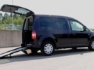 Adapted car rental: Volkswagen Caddy