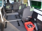 Adapted car rental: Ford Transit Kombi