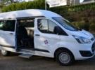 Behindertengerechtes Fahrzeug zu vermieten: Ford Transit Kombi