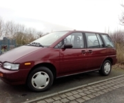 Nissan Prairie slx - Angepasstes Fahrzeug - Montgermont  (35760)