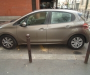 Peugeot 208 - Adaptive driving system car - Paris  (75011)
