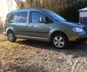 Volkswagen Caddy - Für den Transport angepasstes Fahrzeug - Villelaure  (84530)