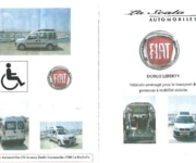 Fiat Doblo - Wheelchair Accessible Vehicle - Aigrefeuille-d'Aunis  (17290)