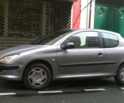Peugeot 206 - Adaptive driving system car - Paris  (75010)