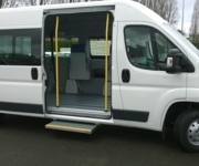 Peugeot Boxer - Wheelchair Accessible Vehicle - Entrammes  (53260)
