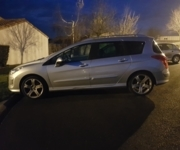 Peugeot 308 sw - Adaptive driving system car - Saint-Philbert-de-Grand-Lieu  (44310)